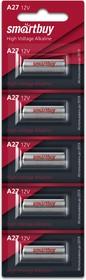 Батарейка алкалиновая Smartbuy A27/5B (100/1000) (SBBA-27A5B)