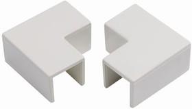 INS20145, Wht PVC flat angle for 38