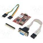 UVGA-III, Интерфейс I2C,UART, Средство разработки 4D Systems, 3,3/5ВDC