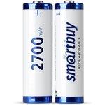 Аккумулятор NiMh Smartbuy AA/2BL 2700 mAh (24/240) (SBBR-2A02BL2700)