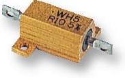 WH5-0R47JI, Резистор, с осевыми выводами, 0.47 Ом, 10 Вт, 150 В, ± 5%, Серия WH, Проволока