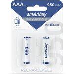 Фото 2/2 Аккумулятор NiMh Smartbuy AAA/2BL 950 mAh (24/240) (SBBR-3A02BL950)