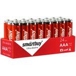 Фото 4/4 Батарейка алкалиновая Smartbuy LR03/4S (24/480) (SBBA-3A24S)