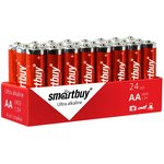 Фото 4/4 Батарейка алкалиновая Smartbuy LR6/4S (24/480) (SBBA-2A24S)