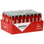 Батарейка алкалиновая Smartbuy LR03/40 bulk (40/960) (SBBA-3A40S)