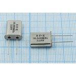 Кварц 16МГц в корпусе HC49U, расширенный интервал температур -40~+85C,с ...