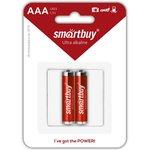 Батарейка алкалиновая Smartbuy LR03/2B (24/240) (SBBA-3A02B)