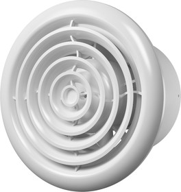 FLOW 4 C BB, FLOW 4 C BB, Вентилятор осевой с обратн. клапаном, круглой решеткой, двигателем на ш/подшип D 100 (FLOW 4 C BB)
