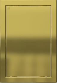 Л2030 Gold, Люк-дверца ревизионная218х318 с фланцем 196х296 ABS, декоративный