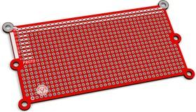 Фото 1/3 PCB1, Печатная макетная плата 101,6x50,8, двухсторонняя с металлизацией, с крепежными отверстиями