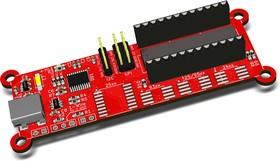 Фото 1/2 RDC2-0026A, USB программатор FLASH и EEPROM памяти. STM32F042F6P6