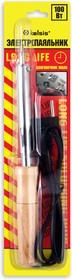 """BSI02100, Паяльник 100 Вт, деревянная ручка. Долговечное жало """"Конус"""". Спиральный нагреватель (ЭПСН)"""