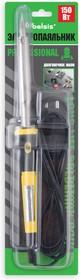 """BSI03150, Паяльник 150 Вт, двухкомпонентная пластиковая ручка. Долговечное жало """"Конус"""". Быстрый нагрев."""
