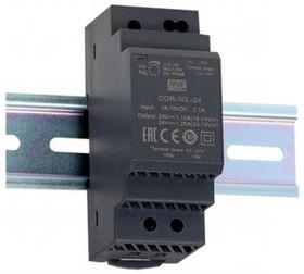 Фото 1/2 DDR-30G-12, DC/DC преобразователь, 30Вт, вход 9-36В,выход 12В/2.5А