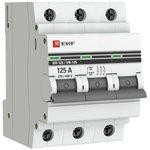 SL125-3-125-pro, Выключатель нагрузки 3п ВН-125 125А PROxima