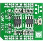 MIKROE-1424, Light click, Периферийный модуль с установленным фотодиодом PD15-22CTR8