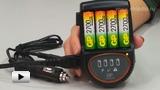 Смотреть видео: Устройство зарядное GP PowerBank H 500 + адаптер для автомобиля
