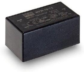 Фото 1/2 MPM-05-12, AC/DC преобразователь, 12В,0.42А,5Вт