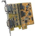 VScom 200Ei-SI PCIex (PCIE-200I-SI), 2-портовая плата ...