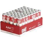 Батарейка алкалиновая Smartbuy ONE LR03/40 bulk (40/960) (SOBA-3A40S-Eco)