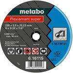 Круг отрезной METABO 616100000 абразивный отрезной круг ...
