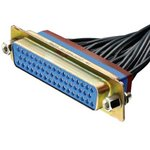 2221760-5, HD D-SUB CONNECTOR, RCPT, 78POS