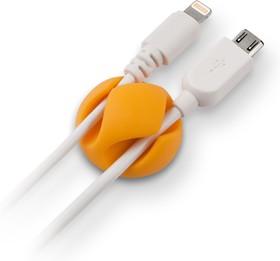 Фото 1/2 CM1102MX, Зажим кабельный, двойной, круглый, приклеивающийся, цветной