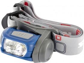 90569, Фонарь налобный Sport, ABS пластик, CREE XP-E LED 3 Вт 120 лм, 3 эко LED, 8-18 часов, 3хААА