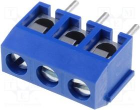 DG301-5.0-3/6B, Зажимная рейка для печатных плат