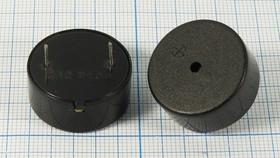 Излучатель звука пьезоэлектрический со встроенным генератором (3~24)В, 3.3кГц, згп 24x12\ 3~24\\3,3\2P15\ CBG2433\DAE YOUNG
