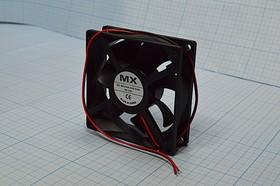 Фото 1/5 Вентилятор постоянного тока 24 Вольта, 80x80x25мм, подшипник скольжения, 3300об/мин, ВН341S вент 80x80x25\ 24В\0,11А\2L\ПС\ FBDCF-8025D24HS