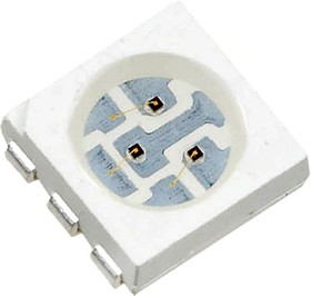 ARL-5060UYС3, ЧИП светодиод желтый PLCC6 660мКд (U6Y)