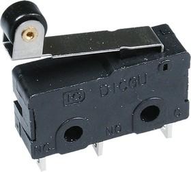 SM5-05N-45G-G микропереключатель с лапкой 250В 5A