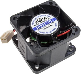 KF0428B1SR-R,вентилятор 12В,40х40х28мм(подшипник)