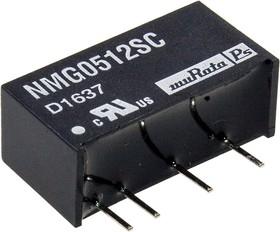 NMG0512SC, DC/DC TH 2Вт 5-12В SIP
