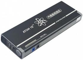 Пусковое устройство AURORA ATOM 18 EVOLUTION 18000 mAh. 66.6 Wh. Пиковый ток 12В 600 А.