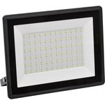 Прожектор СДО 06-100 светодиодный черный IP65 6500 K LPDO601-100-65-K02