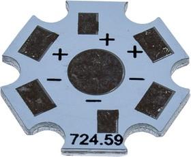 HAL MONO STAR, Алюминиевая плата для 1-го одноцветного светодиода
