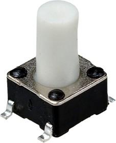 IT-1102WD8-160G-G, кнопка тактовая 6х6 SMD h=9.5мм