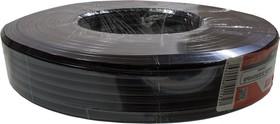 ШТЛП-4 CCA ЧЕРНЫЙ БУХТА 100М, ШТЛП-4, телеф.кабель 4 жилы, CCA ,черный , бухта 100м