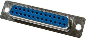 DB-25F, гнездо D-SUB 25 pin пайка на кабель