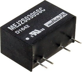 Фото 1/3 MEJ2S0305SC, DC/DC TH 2Вт 3.3-5В Single 5.2кВ