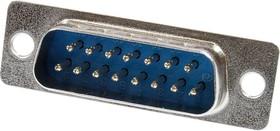 DB-15M, вилка 15 pin пайка на кабель