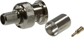 BNC штекер RG-6 обжим (01-001С) 05-3003