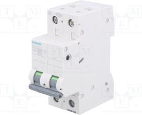 5SL6516-7, Выключатель максимального тока; 400ВAC; Iном:16А; Полюсы:1+N
