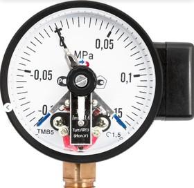 Манометр с электроконтактной приставкой исп. V радиальный ТМ-510Р.05 0...0,6 МРа 1/2