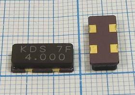 кварцевый резонатор 4МГц в SMD корпусе 4000 \SMD12055C4\16\ 30\100/-30~ 80C\DSX151GA\1Г