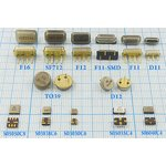 Фото 2/2 ПАВ резонаторы 435.2МГц в корпусе SMD 5x5мм , 1порт, SAW 435200 \S05050C8\\173\ \R435,2MS3B\SDE (HD486)