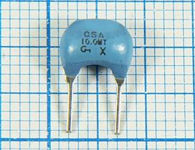 Керамические резонаторы 10МГц с двумя выводами, 10000 \C09x5x07P2\\5000\ 3000\CSA10,0MTZ\2P