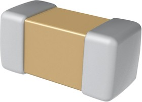 CBR04C120J2GAC, Конденсатора, РЧ, 12 пФ, 200 В, HiQ-CBR Series, ± 5%, 125 °C, 0402 [1005 Метрический]